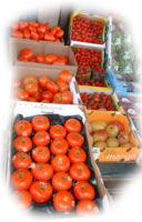 Great selection of produce